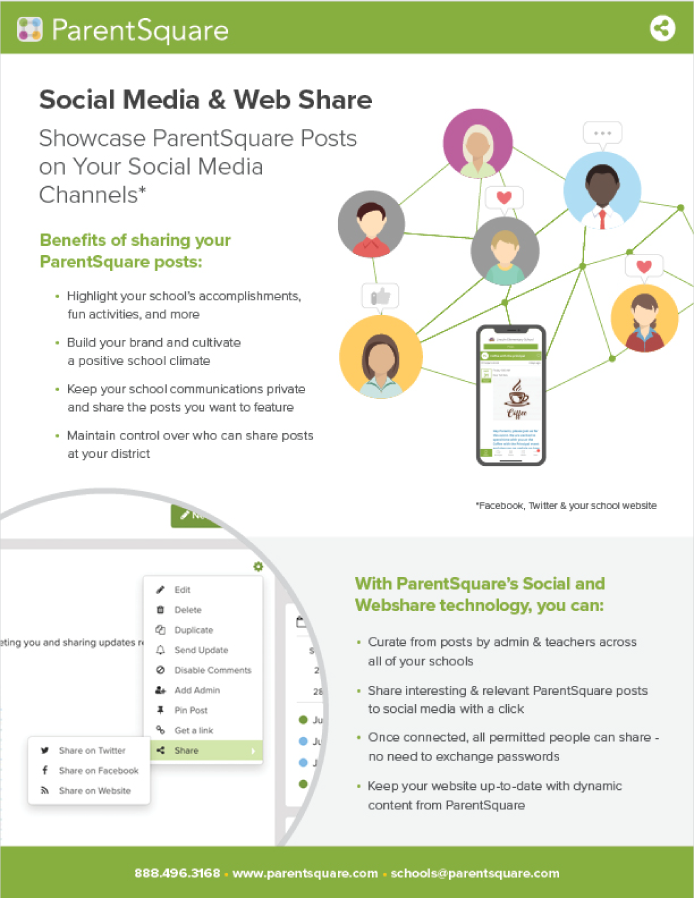 Social and Web Share Flyer