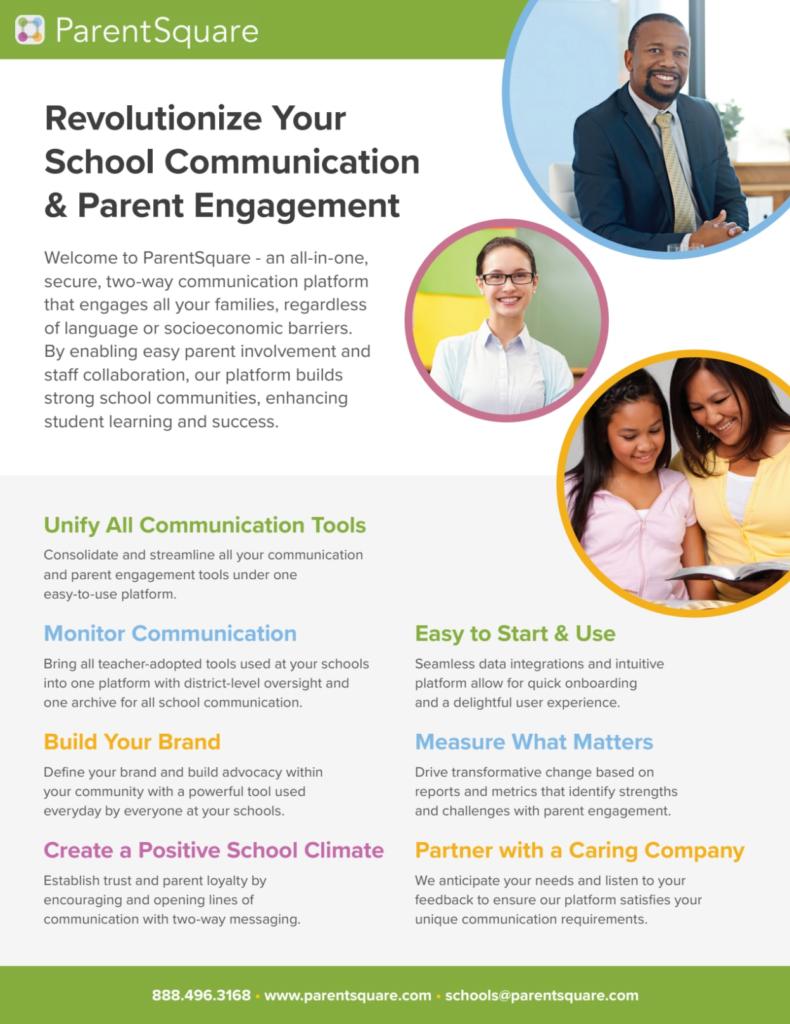 ParentSquare Overview Flyer