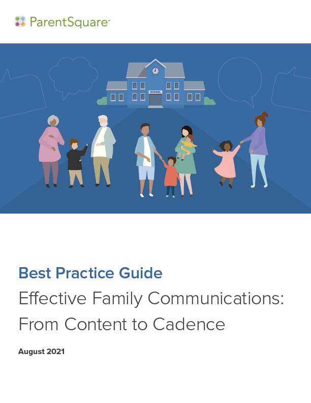Best Practice Guide Effective family Comms