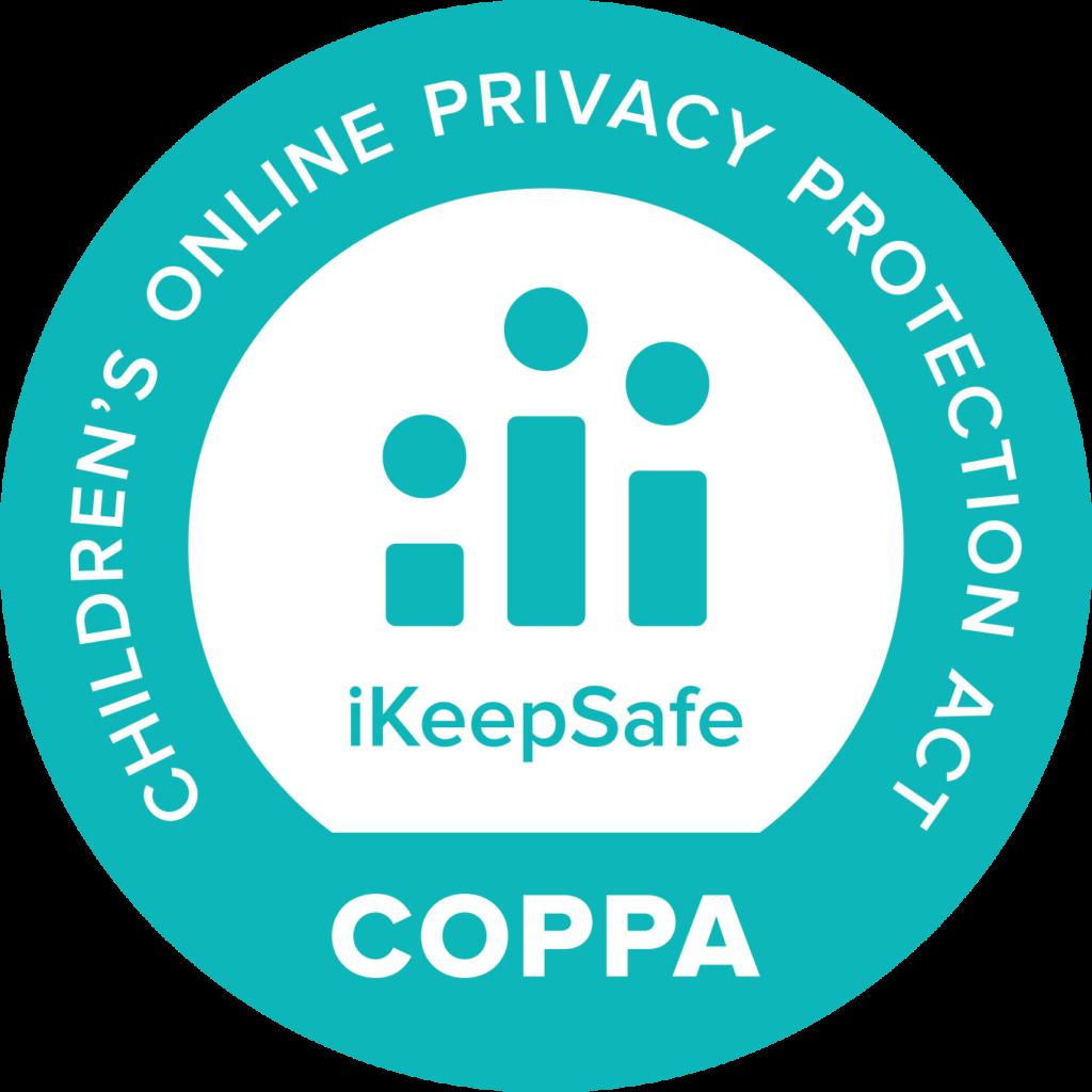 COPPA iKeepSafe certification badge