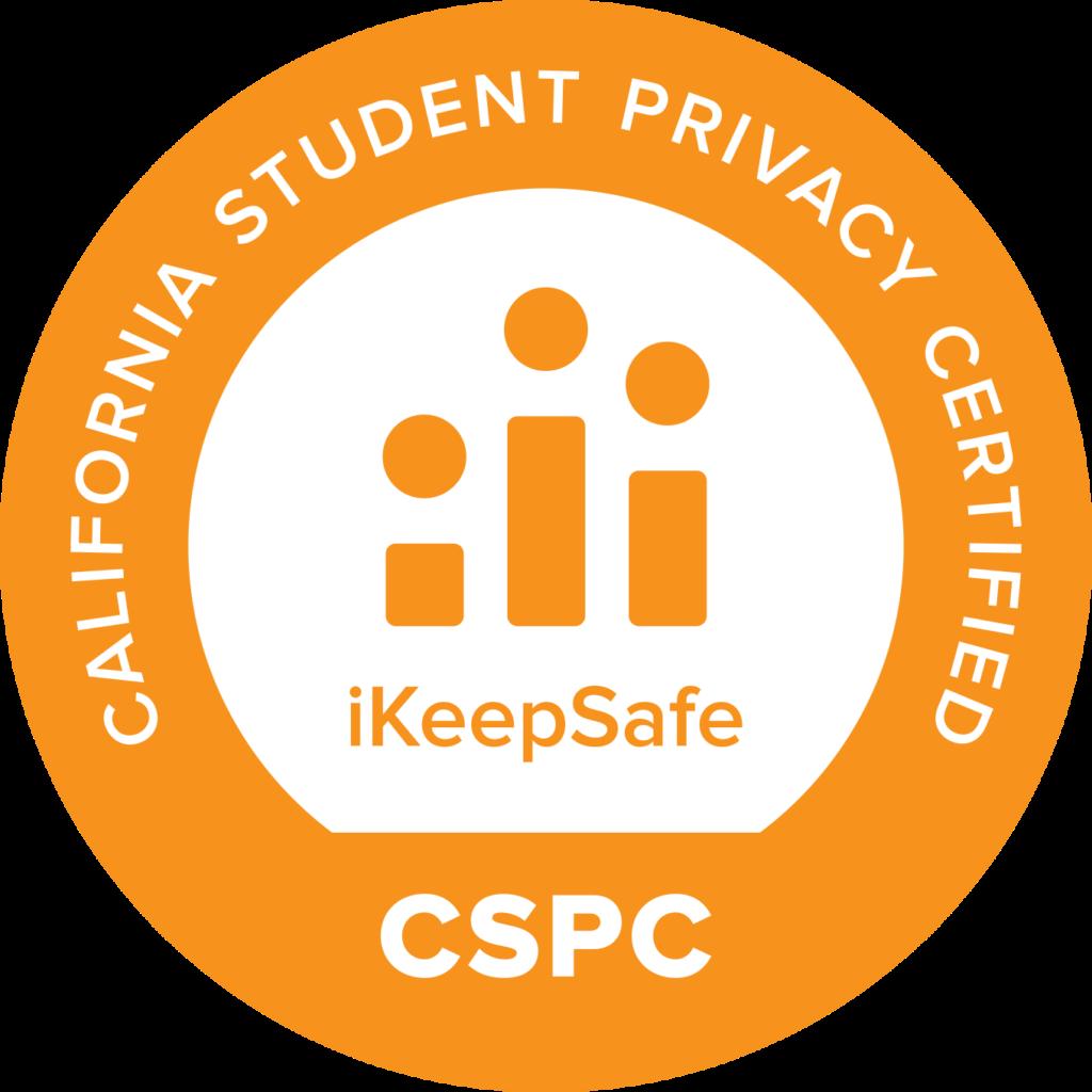 CSPC iKeepSafe certification badge