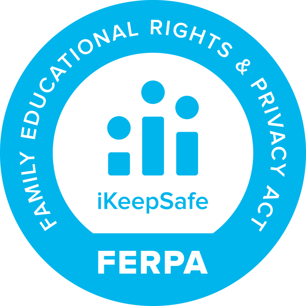 FERPA iKeepSafe certification badge